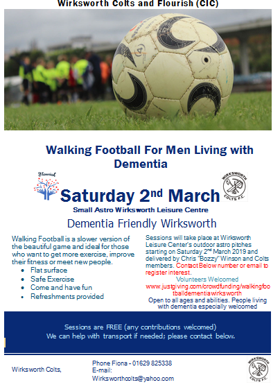 Dementia Walking Football
